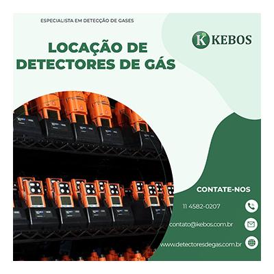 há mais de 12 anos no mercado realizando locação de detectores de gás
