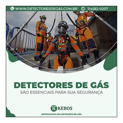 locação de detectores de gás com calibração RBC inclusa