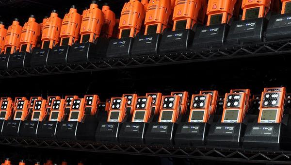 mais de 5.000 locações de detectores de gás feitas