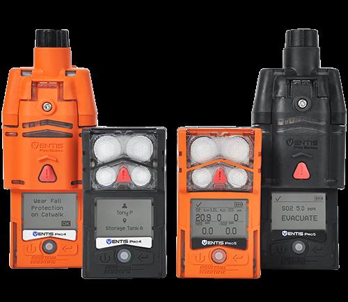 Detectores de gás- Ventis Pro